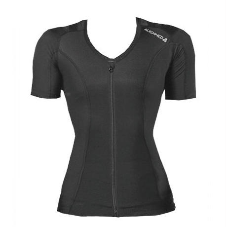 Posture Shirt 2.0  Zipper  Womens Black