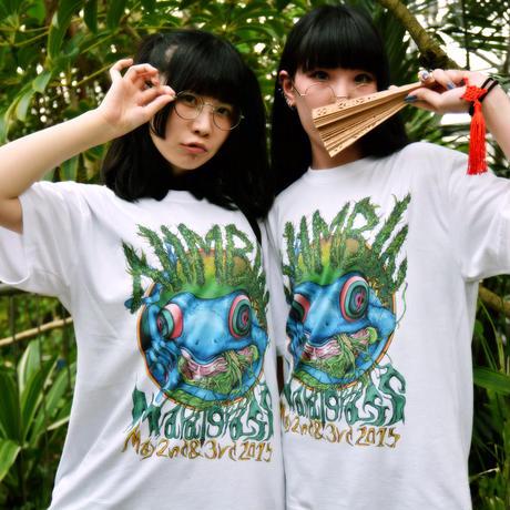 Nimbin Mardigrass Official Design T-shirt 2015