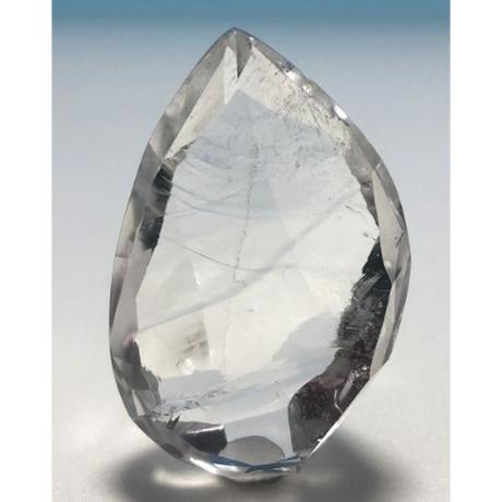 美晶堂オリジナル 天然白水晶・かっこみカット S-QU-005