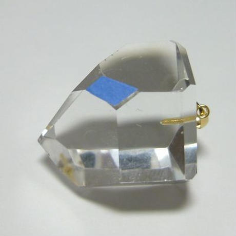 K18 右巻き水晶(美晶堂・オリジナル)RSQ-009