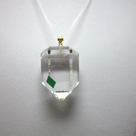 K18 左巻き水晶(美晶堂・オリジナル)LSQ-013