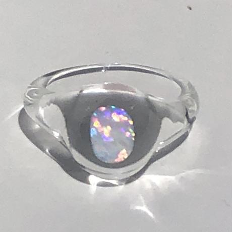 ガラスリング'opal'