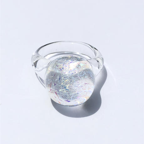 ガラスリング'銀河'