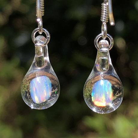 """ピアス """"opal""""  Clear"""