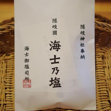 天日干し天然塩「海士乃塩」100g<隠岐國 海士御塩司所>