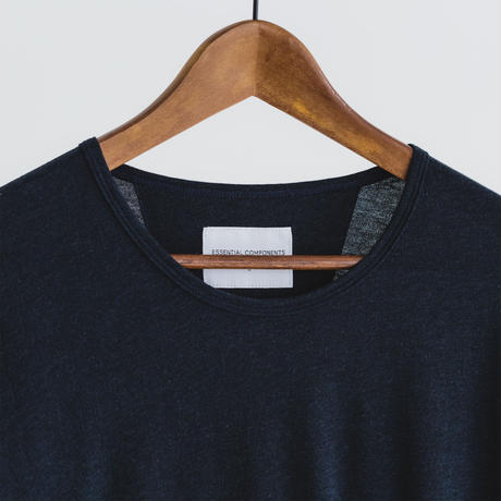 Tulufan Cotton long sleeve cut and sew (navy)