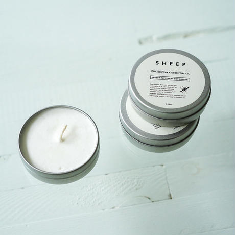 INSECT REPELLENT SOY CANDLE_01(虫除け)ソイキャンドル