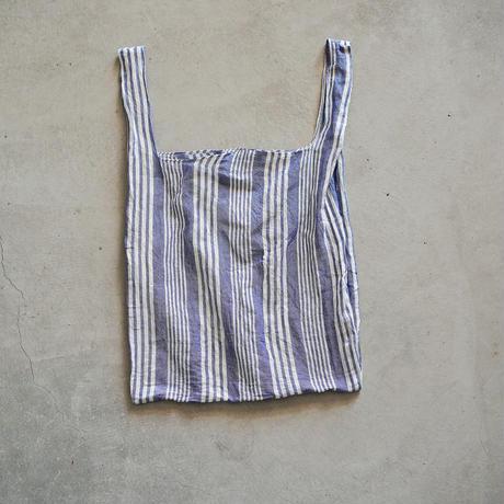 cont shopping bag ( blue / stripe 3 )