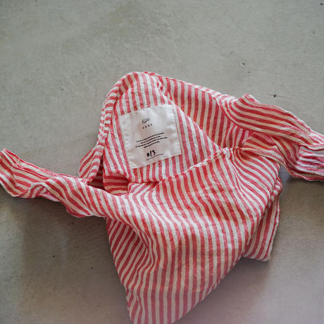 cont shopping bag ( red / stripe 1 )