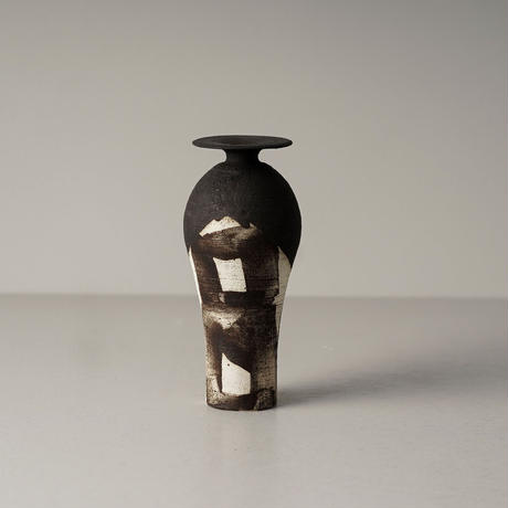 野口寛斎 / Yakishime Vase / 06