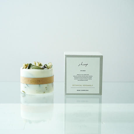 1位 SHEEP DESIGN『BOTANICAL SOY CANDLE』