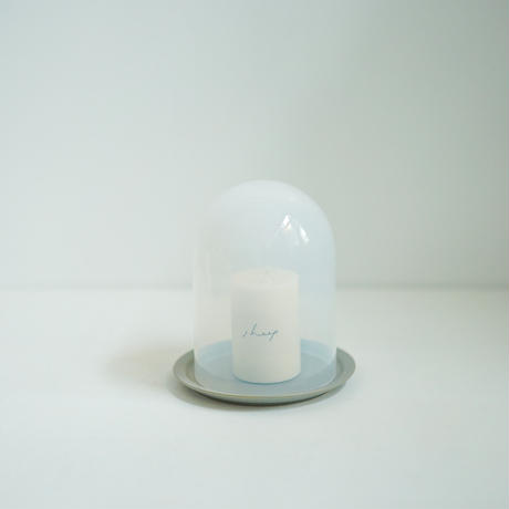 GLASS DOME _ホワイト Sサイズ用