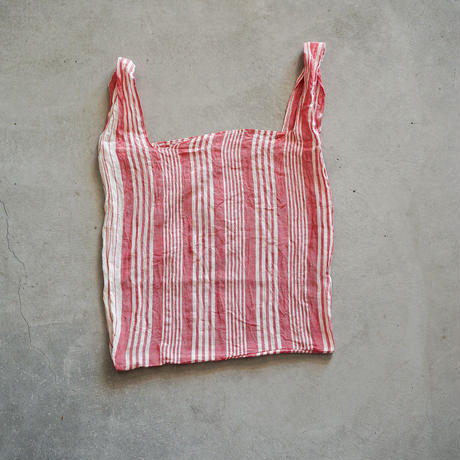 cont shopping bag ( red / stripe 3 )