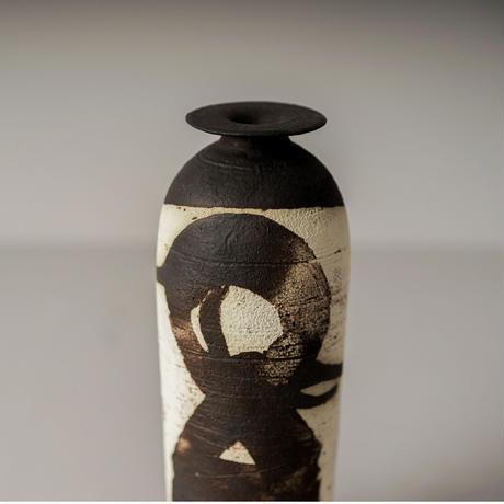 野口寛斎 / Yakishime Vase / 08