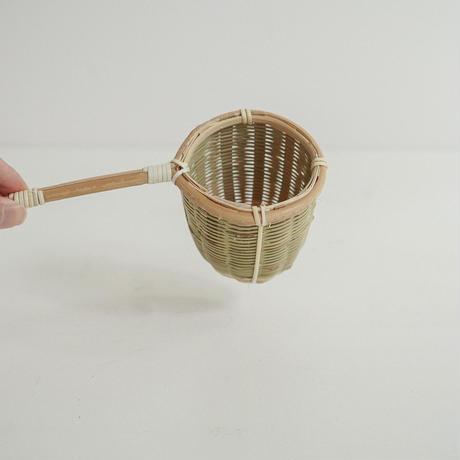 竹の茶こし(大)