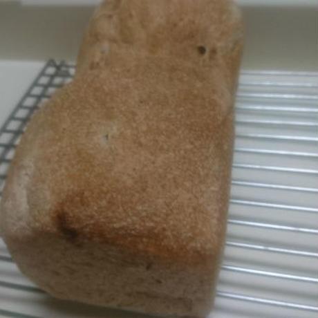 ごはん酵母の有機レーズン食パン