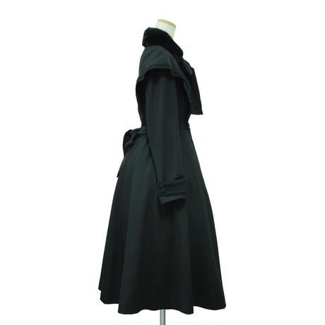 """""""Florence""""クラシカルコート/ブラック"""
