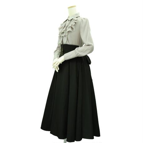 """""""Victorian""""バッスルスカート / ブラック"""