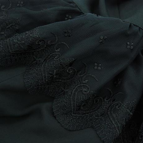 レースフリルマーメイドスカート