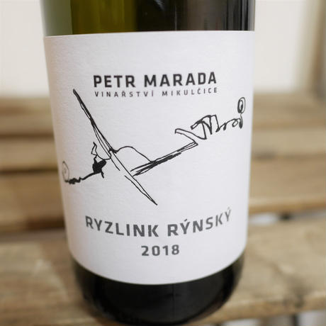 Ryzlink rynsky 2018[リースリング 2018 / Petr MARADA]