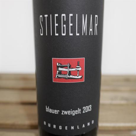 Blauer Zweigelt 2013[ブラウアー ツヴァイゲルト 2013 / Stiegelmar]