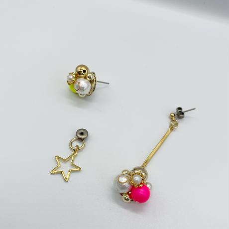 「ネオンチビニコちゃん★アシンメトリー」8/4 販売20:00 START