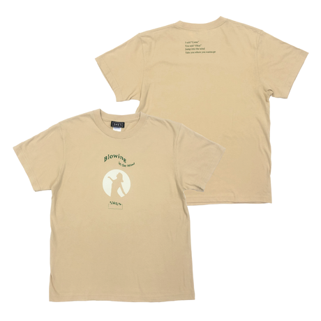 Blowing in the Wind  Tシャツ(ライトベージュ)