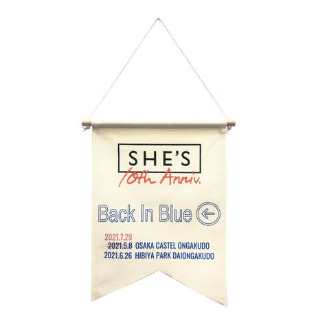 アニバーサリーフラッグ「Back In Blue」(日比谷公演・先行通販)