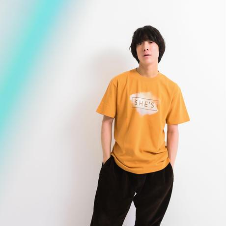 ロゴTシャツ<20 WINTER>(キャメル)