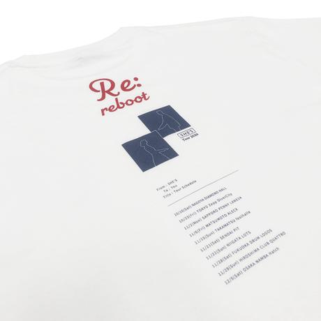 Re:reboot Tシャツ(ホワイト)
