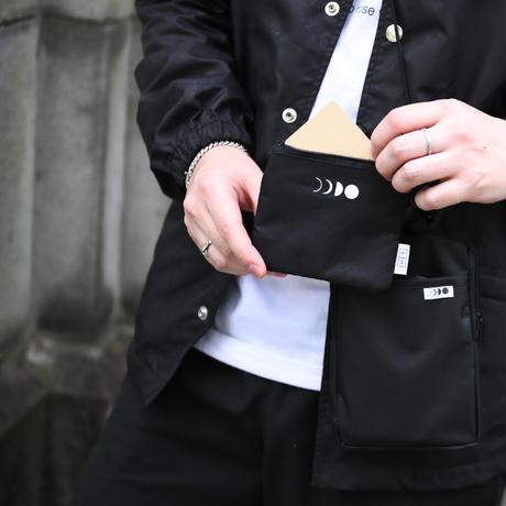 ショルダーポーチ&コインケース(ブラック)
