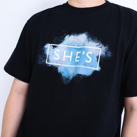 ロゴTシャツ<20 WINTER>(ブラック)