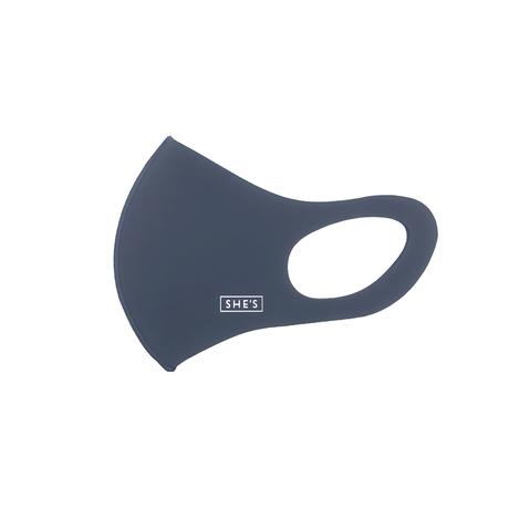 ロゴ エチケットマスク(ネイビー)