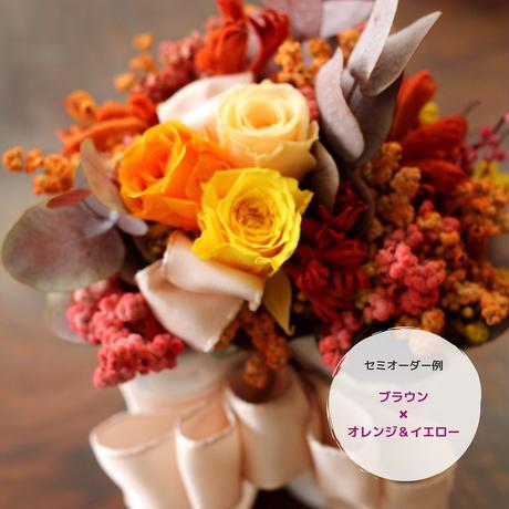 【セミオーダー】ハートポットアレンジ