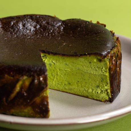 抹茶のバスクチーズケーキ 期間限定 全国送料550円