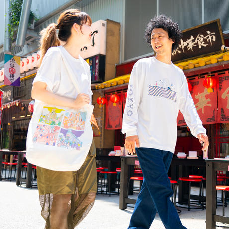 A day in the life shibuya 長袖Tシャツ《ボールチェーンタグセット》