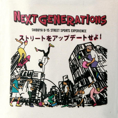 NEXT GENERATIONSトートバッグ《先着!数量限定 ボールチェーンタグセット》