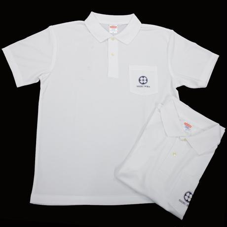 しぶそばポロシャツ(白)