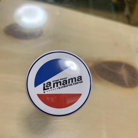 渋谷La.mama オリジナル缶バッジ
