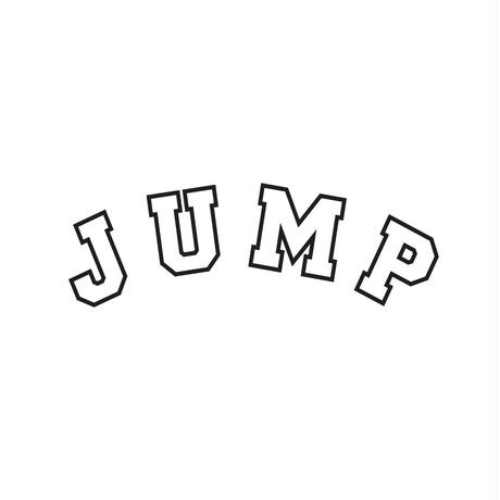 JUMP L/S T-shirts(A) White or Black+ドリンクチケット1枚 SET