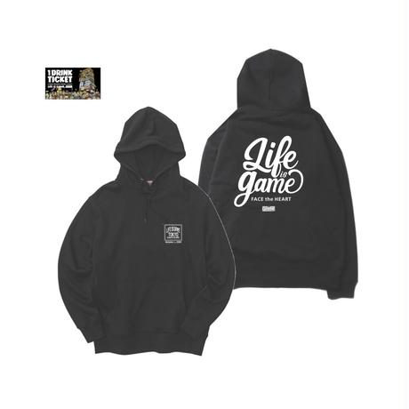 THE GAME Hoodie(A) +ドリンクチケット1枚 SET
