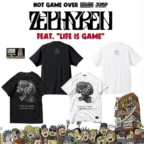 ZEPHYREN T-shirts White or Black+ドリンクチケット1枚 SET