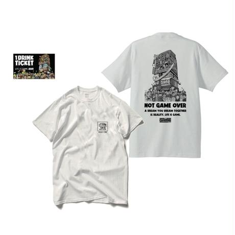 THE GAME T-shirts(A)+ドリンクチケット1枚 SET