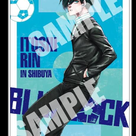 ★NEW★【SHIBUYA TSUTAYA限定特典 第二弾・描き下ろしイラストカード付】ブルーロック 1~16巻 全巻セット