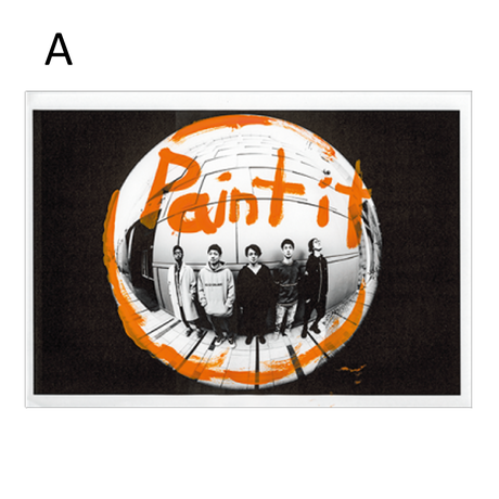 【TSUTAYA限定販売】<PAINT IT O>アートウォールペーパー
