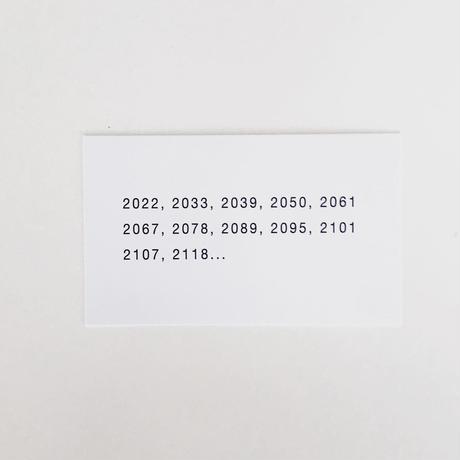 masanao hirayama  2022年カレンダーステッカー