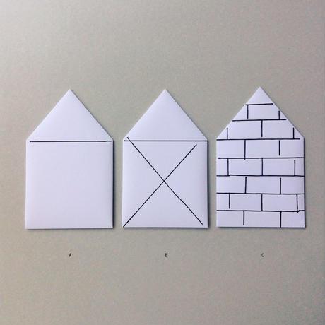 house envelope (PAPIE LABO×masanao hirayama)
