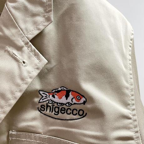 【鯉&CUTE刺繍】T/Cドライバーズジャケット