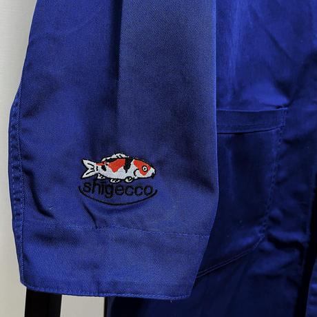 【鯉&CUTE刺繍】T/Cエンジニアコート