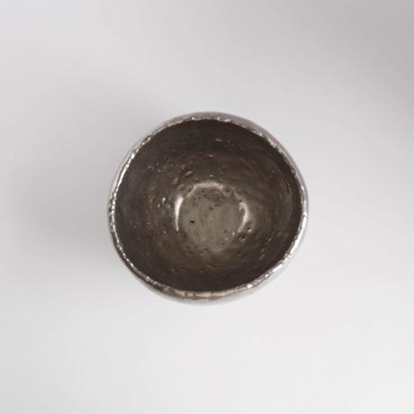 内田鋼一・白金彩茶碗